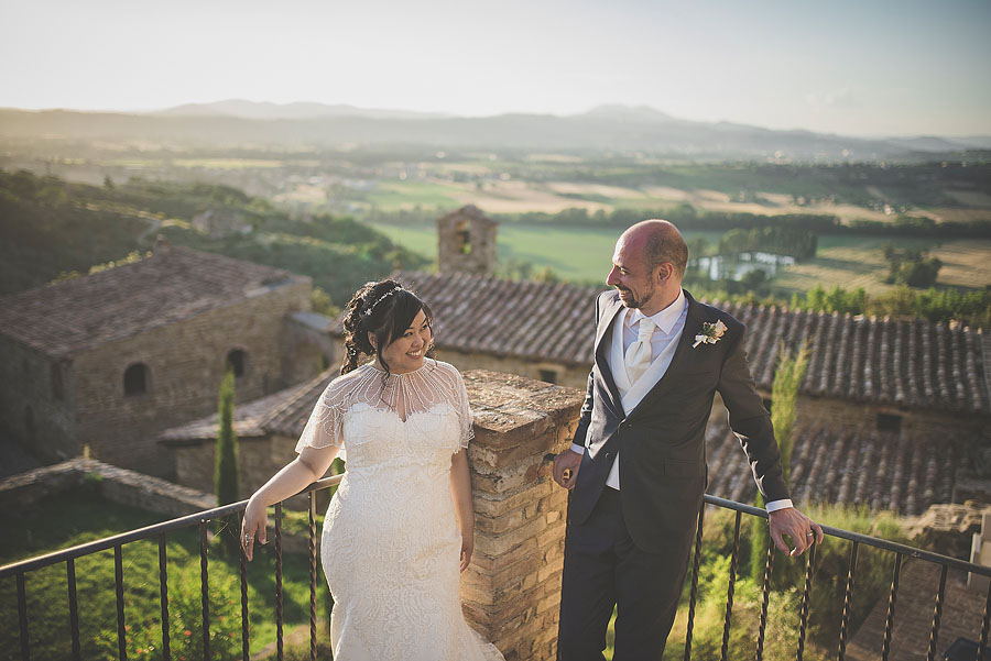 Italy Destination Wedding in Umbria Castle