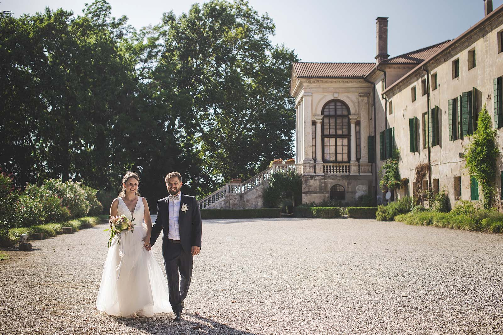 Wedding Photography in Italy at a Venetian Villa